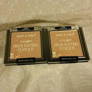 2for$20 set of wet n wild highlighters
